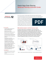 Oracle - DataSheet_VCP R12_Advanced Planning Command Center (056851)