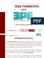 III Stage Formativo