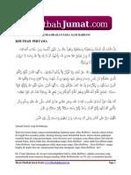 Khutbah Jumat Mendambakan Alim Rabbani Full