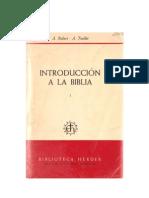 Robert a - Feuillet A_Introduccion a La Biblia_Introd_gral_AT_Herder