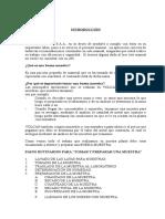 MANUAL de Laboratorio (análisis vía clásica)