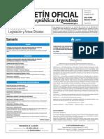 Boletín Oficial de la República Argentina, Número 33.451. 31 de agosto de 2016