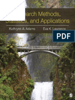 Research Methods, Statistics, A - Kathrynn a. Adams