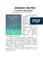 PROOÉMIUM MORTIS, de Renato Sandoval
