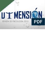 Revista Dimensión de La Psicologia