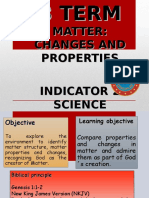 6th Science- Changes and Properties