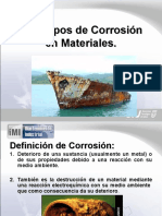 Tipos de Corrosion