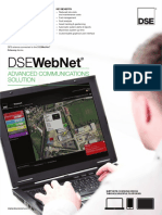 DSEWebNet Data Sheet (USA)