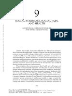 201009299-009 Social Stressors Pain Health