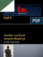 G36 E Generalidades (versión 2009)