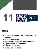 Tema 11 2016-1 Mercado y Comercialización de Minerales