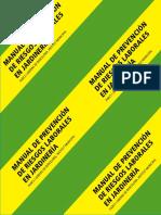 Manual de PRL en Jardineria