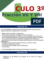 Fraccion VII Y  VIII.pptx