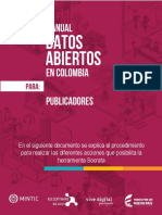 Tutorial Publicador datos abiertos