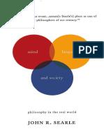 Searle, John R. 1998 Mind, Language And Society.pdf