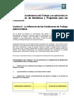 Lectura 4 - La Influencia de Las Condiciones de Trabajo Sobre La Salud