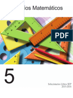 Solucionario Desafios Matematicos. 5°