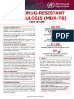 Mdr Tb Factsheet