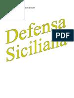 Defensa siciliana en el Mundial de ajedrez junior 2016