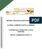 Trabajo 1 .Fuerzas Magnetomotrices Giratorias en Maquinas Electricas