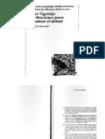 Castorina Piaget-Vigotsky Contribuciones Para Replantear El Debate
