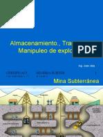 39147608 Explosivos en Mineria Subterranea