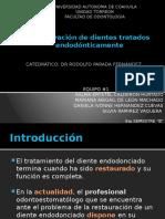 Preparacion de Dientes Restaurados Endodonticamente (1)