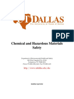 Chemical and Hazardous Materials Safety