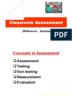 1 Concepts of Classroom Assessment