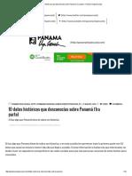 10 Datos Históricos Que Desconocías Sobre Panamá (1ra Parte) – Panamá Vieja Escuela