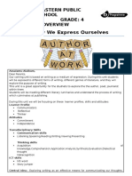 2nd  curriculum overview writing