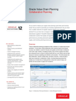 Oracle - DataSheet_VCP R12_Collaborative Planning (056954)