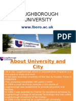 Studying Lough Borough University