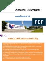 Studying Lough Borough University