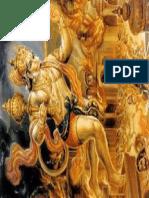 Hanuman Fire on Tail