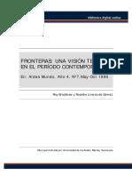 04 · Fronteras, Una Vision Teórica en El Periodo Contemporaneo