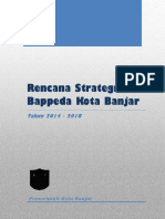 Renstra Bappeda 2014 - 2018