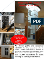 Home and Public Elevators