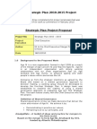 8b 5. Sample.Strategic Plan 2010-2015 Project Proposal.doc