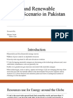 Energy and Renewable Energy Scenario in Pakistan(1)