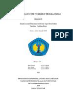 2 Makalah Tipologi Dan Scope Penelitian Tindakan Kelas
