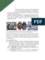 Informe de Nanomateriales