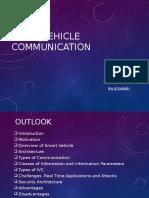 Inter Vehicle Communication Seminar Presentation