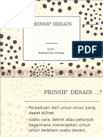 PRINSIP DESAIN