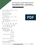 9926SBI PO MOCK TEST - 1 SOLUTIONS.pdf