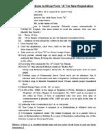 Business ROFInstructions