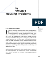 Anatomy of the Nations Housing Problems