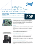 Server Board s1200sp Brief