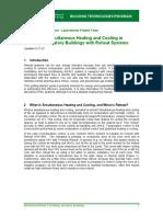 Building Technologies Program Minimizing Reheat Guide