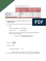 Presupuesto producción